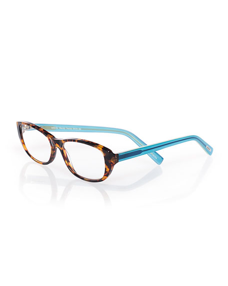 Eyebobs Hanky Panky Two-Tone Readers, Brown/Blue