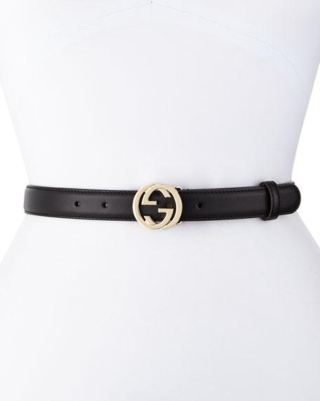 Interlocking G-Buckle Belt