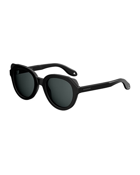 Square Cutoff Sunglasses