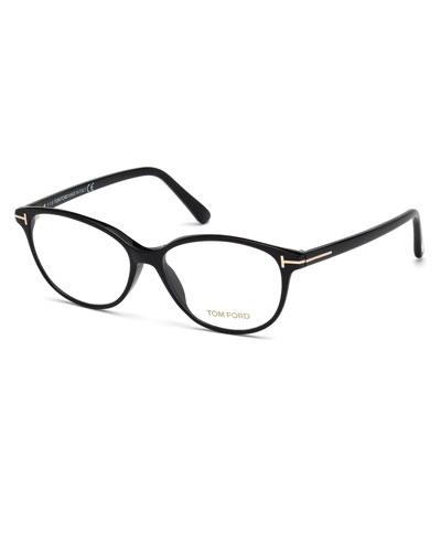 Cat-Eye Optical Frames, Black