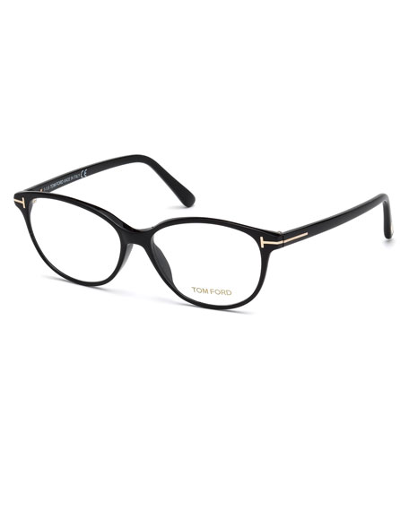 TOM FORD Cat-Eye Optical Frames, Black