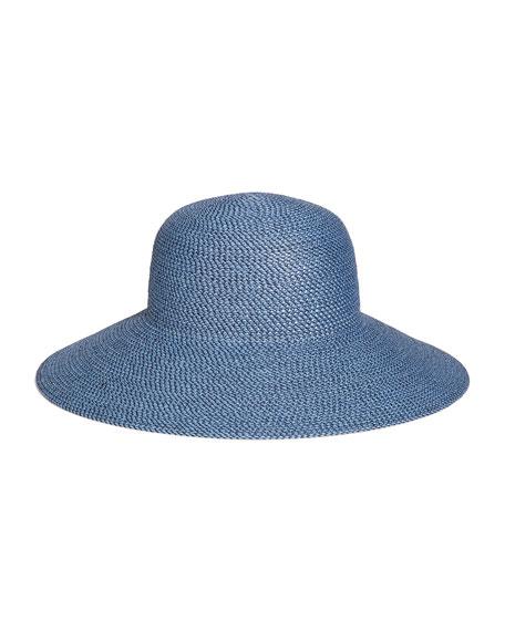Eric Javits Hampton Squishee Packable Sun Hat, Beige