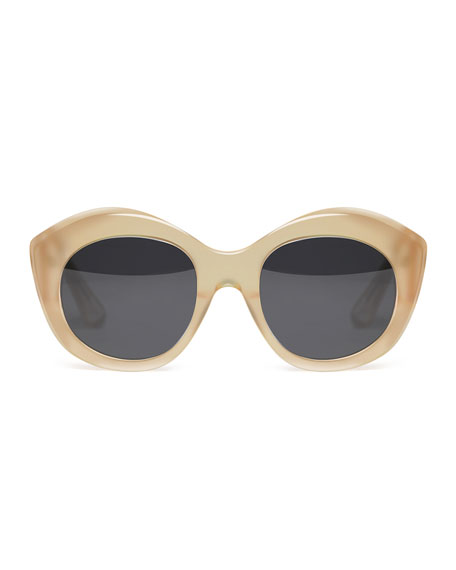 Berkeley Acetate Cat-Eye Sunglasses