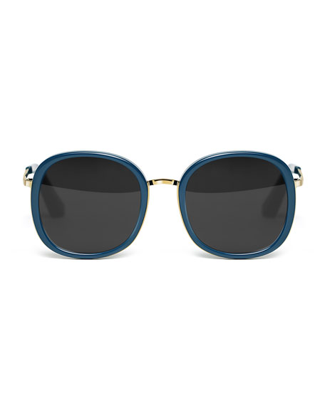 Jones Rounded Square Sunglasses