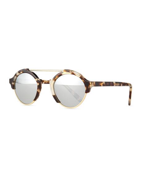 Milan IV Round Sunglasses