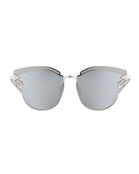 Felipe Metal Sunglasses, Gray