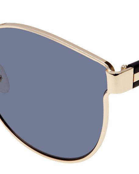 8691fa664f0fd Karen Walker Star Sailor Monochromatic Sunglasses