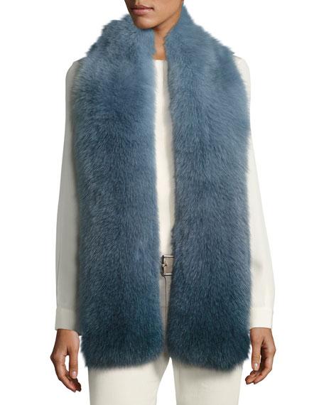 Corvatsch Fox Fur Scarf