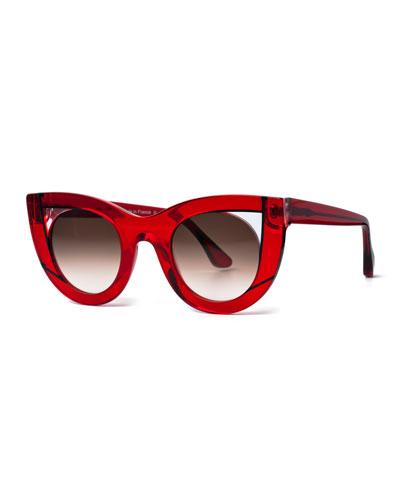 Wavvvy Acetate Cat-Eye Sunglasses