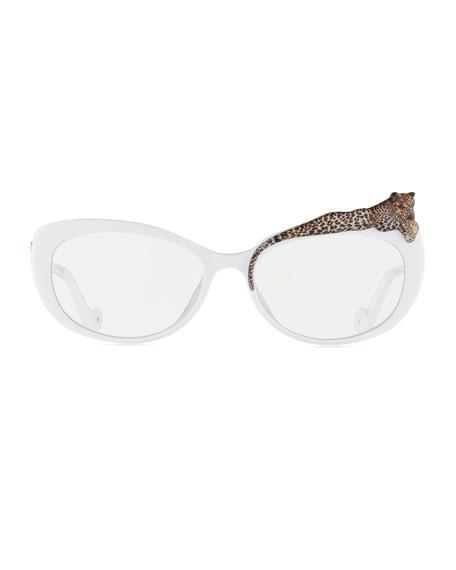 Rose et le Reve Cat-Eye Optical Frames, White