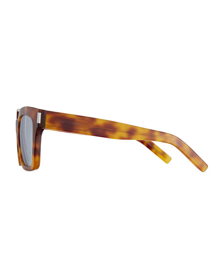 Bold 1 Mirrored Square Sunglasses