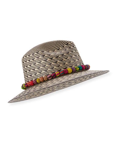 Cartagena Straw Panama Hat, Tan