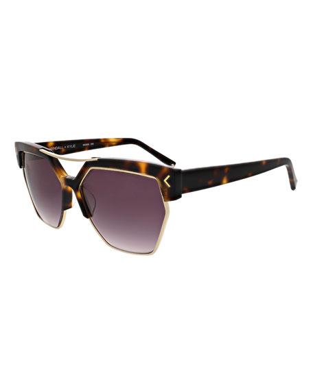 Melrose Geometric Sunglasses