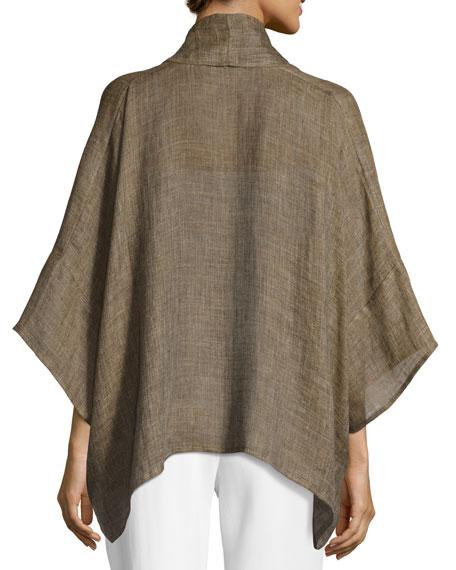 Linen Shawl Kimono Jacket