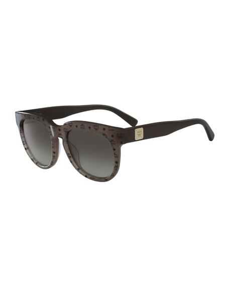 Square Logo Sunglasses