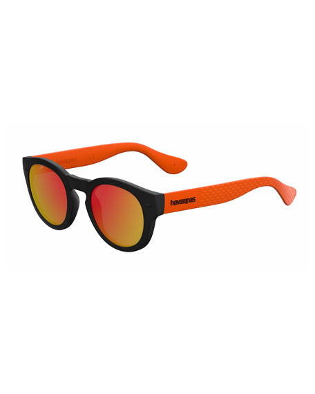 Image 1 of 1: Round Rubber Sunglasses