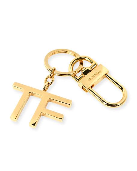 TF Golden Brass Key Chain