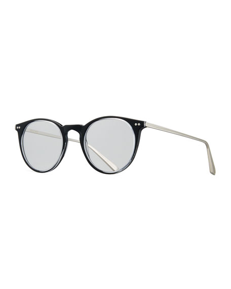 KREWE Royal Round Optical Frames, Black