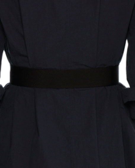 Elastic Web Belt, Black