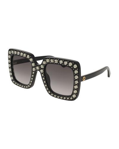 Square Swarovski® Sunglasses