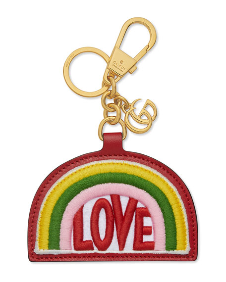 Love Rainbow Key Chain