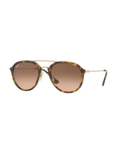 Framed Aviator Sunglasses