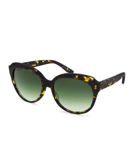 Marvalette Butterfly Sunglasses, Heroine Chic/Julep