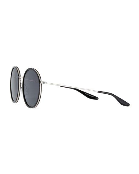 Joplin 2 Round Metal-Rim Sunglasses