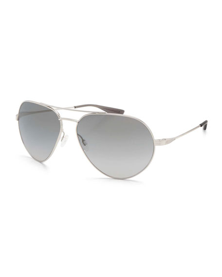 Barton Perreira Commodore Photochromic Aviator Sunglasses,