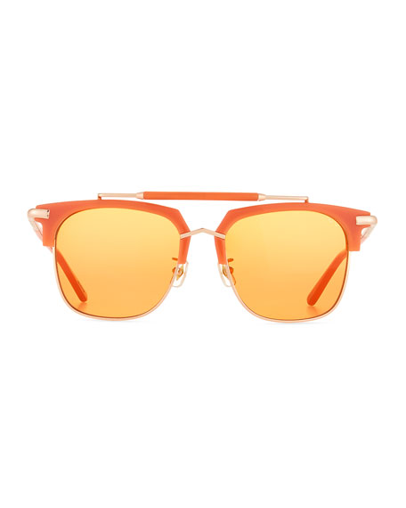 Cocktails & Dreams Square Sunglasses