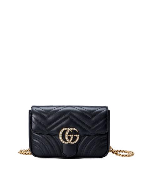 Gucci GG Marmont Matelassé Flap Belt Bag