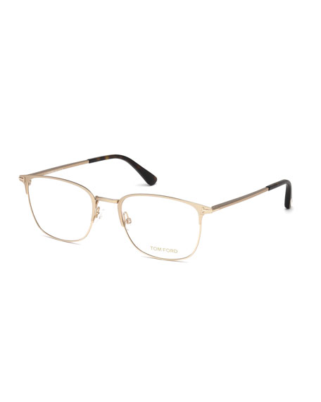 8644986c6cc TOM FORD Square Metal Optical Frames