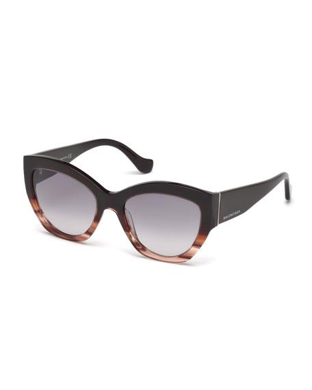 Chunky Cat-Eye Sunglasses