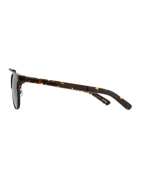Turks & Caicos Square Semi-Rimless Sunglasses