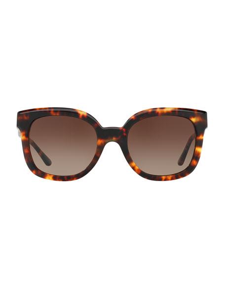 Modern-T Cat-Eye Sunglasses, Vintage Tortoise