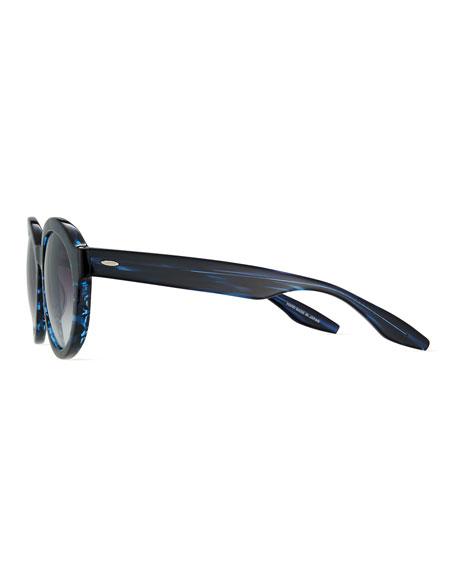 Carnaby 55 Midnight Smolder Round Sunglasses