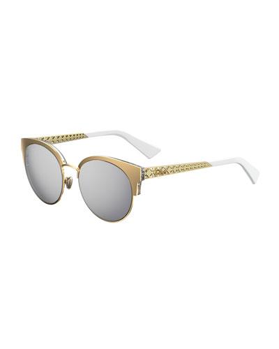 bb7a373ca18a Dior Sunglasses   Mirrored   Cat-Eye Sunglasses at Bergdorf Goodman