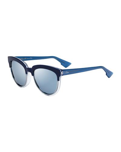 Sight1 Mirrored Round Sunglasses