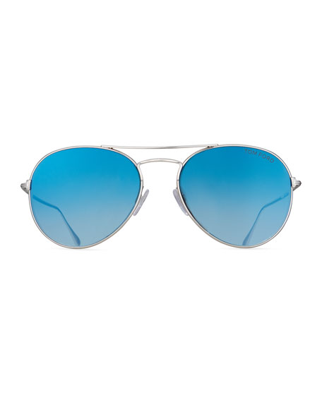 Ace Aviator Sunglasses, Blue