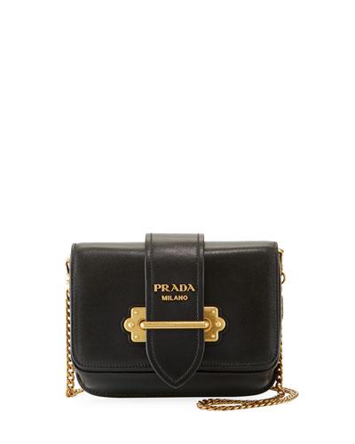 Leather Cahier Trunk Belt Bag