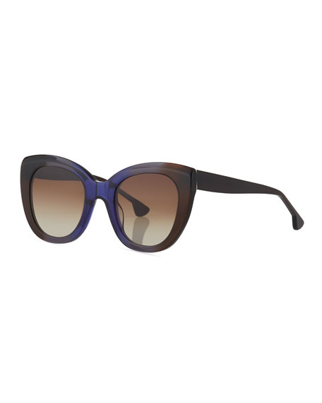 Mercer Cat-Eye Acetate Sunglasses