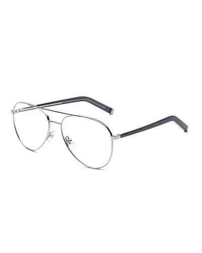 Numero 34 Argento Aviator Optical Frames