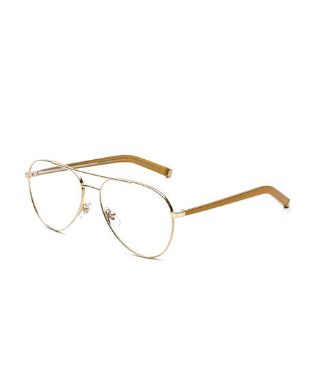 Numero 34 Oro Aviator Optical Frames