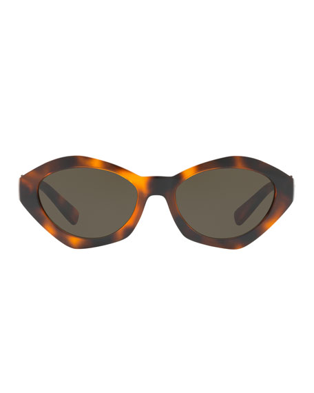 Geometric-Frame Sunglasses