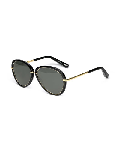 Reed Aviator Sunglasses