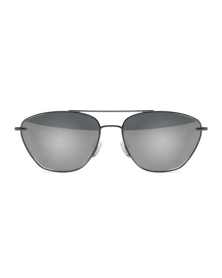 Johnson Mirrored Aviator Sunglasses