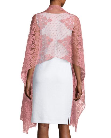 Lace Shawl, Rose