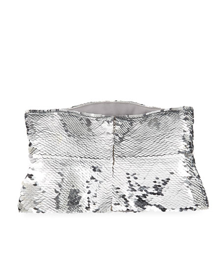 Metallic Sequined Waist Belt