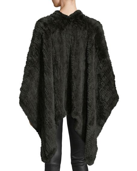 Knit Fur Cape