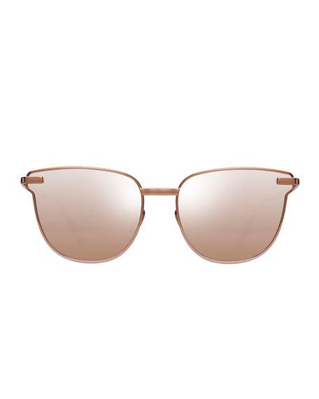 Pharaoh Square Mirrored Sunglasses